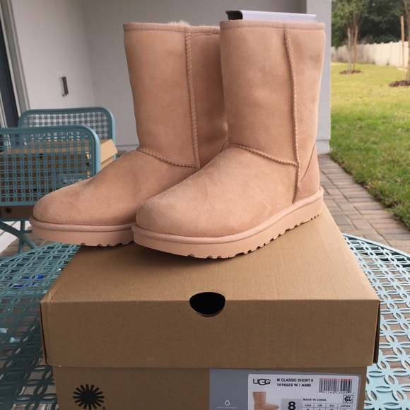93dfb7d3c6a Ugg Classic Short II Boot - Amberlight